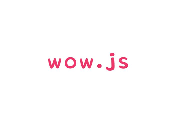 スクロール表示で要素に動きがつけられるwow.jsの使い方とクラスのサンプル紹介